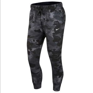 Nike Dri-FIT black/grey camo joggers